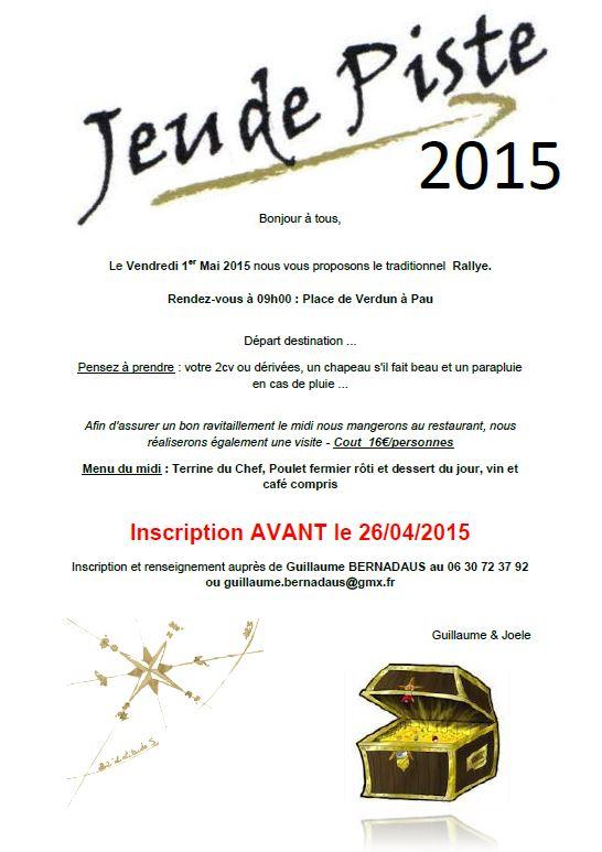 Rallye 1er mai 2015