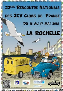 Nationale 2cv 2015 La Rochelle